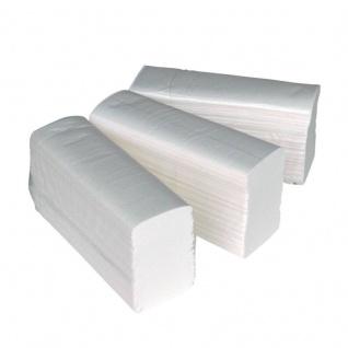 Papierhandtücher 2-lagig Zellstoff Z-Falz Interfolded Zellstof 3750 weiss