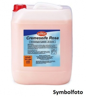 Eilfix hygienische und hautfreundliche Cremeseife Handseife Rosè für Druckspender