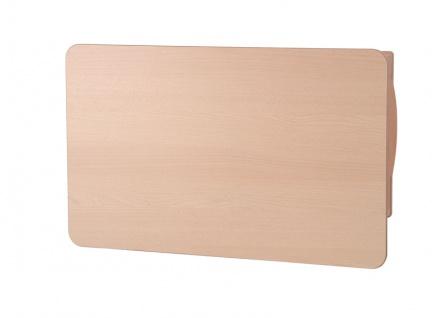 Wandwickeltisch im Querformat aus Holz erhältlich in Weiß oder Buche KAWAQ von Timkid - Vorschau 4