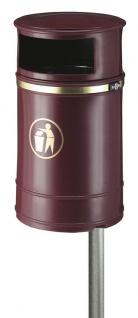 Nickleby Kunststoff Außenabfallbehälter 40 Liter