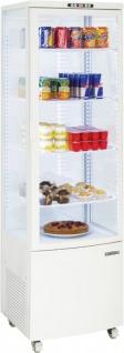 Casselin Kühlregal 235 Liter in Weiß 250W - LED Innenbeleuchtung - Umluftkühlung - Vorschau