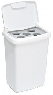 Bechersammler 5x Weiß