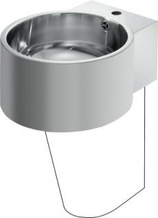 Franke Waschtisch BRC390SF aus Chromnickelstahl zur Wandmontage mit Überlauf