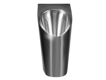 Wasserloses Urinal Inox von URIMAT aus Edelstahl