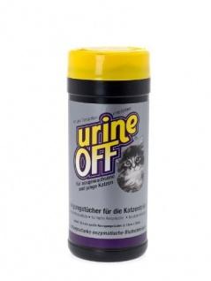 UrineOff Reinigungstücher für Katzentoilette 35 Stück