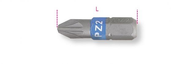 Beta Farbige Schraubeinsätze für Pozidriv®- und Supadriv®-Schrauben 860PZ