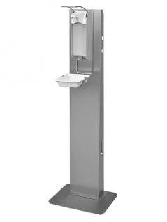 IMP Hygiene-Station E AFP mit manuellem Desinfektionsmittelspender von Ophardt