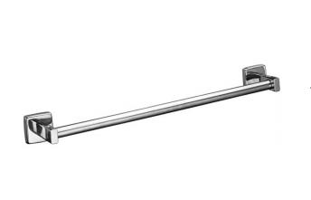 Bobrick B-674x18 / x24 runde Edelstahl hochglanpolierte Handtuchstange in 2 Längen
