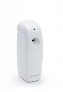 LED - Duftspender in Weiss mit vorprogrammierten Zeitintervallen - für 270ml Dosen