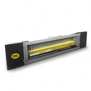Moel Petalo Infrarot Heizung mit Ketten, Schalter, Stecker und Fernbedienung mit 1200 oder 1800 Watt - Vorschau 1