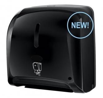 Hyprom Tear'n Dry Papierhandtuchspender Mini Schwarz ''no-touch'' Automatisch