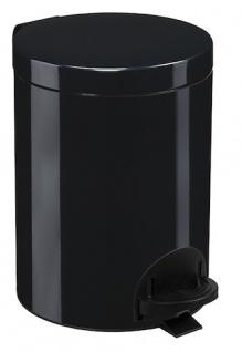Rossignol Sanelia Treteimer 5L aus Stahl oder Edelstahl mit antibakteriellem Eimer