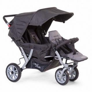 Childwheels Drillings Sportwagen + Regenschutz