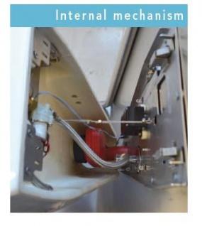 Fumagalli Urinal mit elektronischem Spülsystem - schwarz - Photozelle - Keramik - Vorschau 3