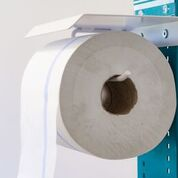 Hygiene- und Desinfektions-Station inkl. Desinfektionspender und inkl. Halterung für Papierhandtuchrolle und Handschuhe, Abfallbox 13lt. - Vorschau 5
