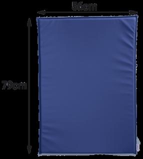 Wickeltisch-Auflage KawaHPL in blau oder weiß Timkid