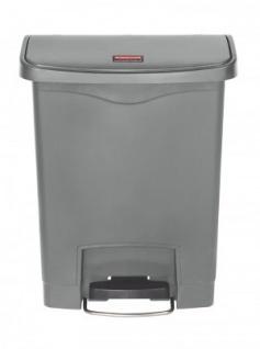 RUBBERMAID Kunststoff-Tretabfallbehälter mit Pedal an der Breitseite 30 L - Vorschau 3