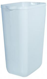 Marplast MP742 Mülleimer 23 Liter in Weiß oder Satin aus Kunststoff