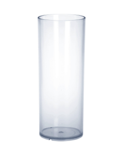 Barglas 0, 25l PC Kunststoff glasklar wiederverwendbar lebensmittelecht