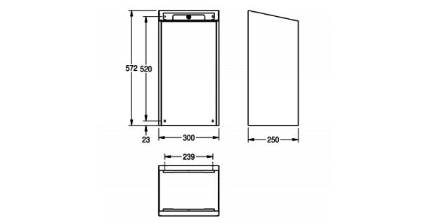 Franke Abfallbehälter EXOS. in 3 verschiedenen Ausführungen erhältlich - Vorschau 4