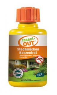 Set 1 Karton mit 10 Stück Insect-OUT® Stechmücken Konzentraten mit je 100 ml - Vorschau 2
