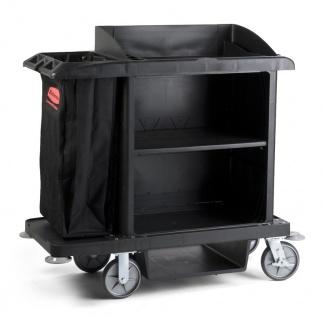 Rubbermaid Kunststoff Hotelwagen mittelgroß