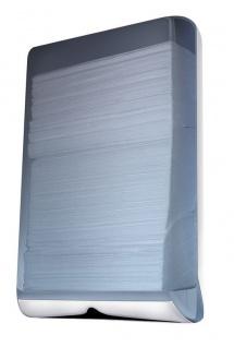 Marplast Papierhandtuchspender aus Kunststoff zur Wandmontage Transparent od Glas