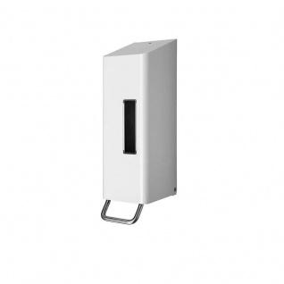 Dan Dryer Classic Design manueller Schaumseifenspender 0, 6L in weiß aus Edelstahl