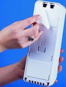 Hyprom Clean Your Seat WC Brillen Desinfektionspender 400 ml Schwarz - Schaumseife - Vorschau 2