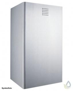 Proox® ONE pure hochwertiger Abfallbehälter 37L Edelstahl matt gebürstet 300mm