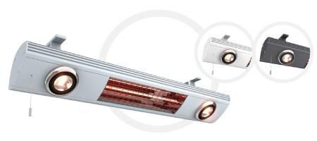 Solamagic Heizstrahler All in one - Licht und Infrarot wärme