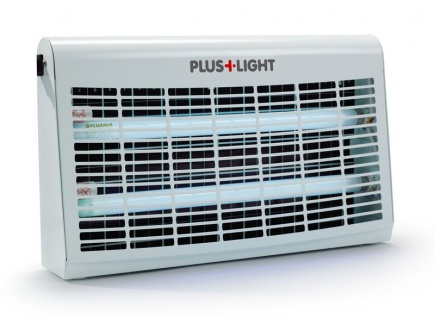 Insektenvernichter Pluslight mit Leistungsstarken 30 Watt in Weiß