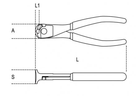 Beta Vornschneider Griff aus Bimaterial 1088BM - Vorschau 2