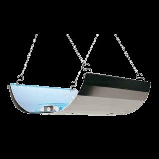 Moel Mo-Butterfly Klebefalle 700 aus Aluminium mit 2 x 15W Lampen und 230V ~ 50Hz