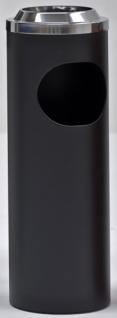 Graepel G-Line Pro BORMIO indoor Standascher aus Chromstahl 1.4016, schwarz