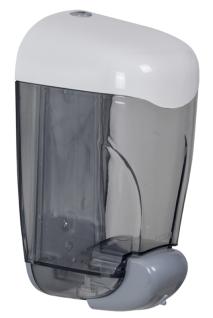 Rossignol 1, 5l Seifenspender aus ABS-Kunststoff mit antistatischem Zusatz inklusive Druckknopf.