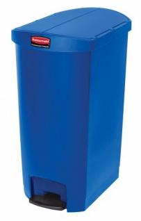RUBBERMAID Slim Jim® Kunststoff-Tretabfallbehälter mit Pedal an der Schmalseite 68 L