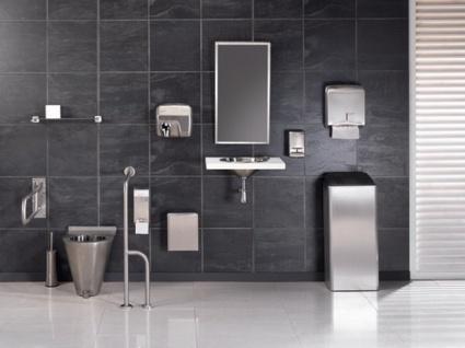 Mediclinics Abschließbarer Toilettenpapierspender für 3 Rollen - Vorschau 4