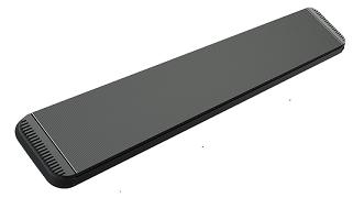 MO-EL Hot Top Heizstrahler 9824 moderner Dunkelstrahler 2400W zur Wand oder Deckenmontage