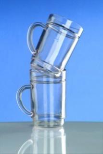 G`spritzter-Schorle-Glas 0, 25l SAN glasklar Kunststoff stapelbar lebensmittelecht - Vorschau 5