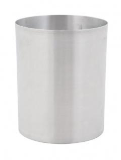 Papierkorb aus Aluminium 20 Liter Aluminium
