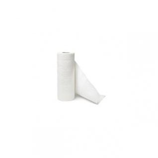 Küchenrollen 3-Lagig 12 x 4 Rollen, 26 cm breit aus Zellstoff hochweiß