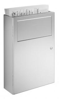 Wagner-EWAR Hygiene-Abfallbehälter 5l WP137 Edelstahl für Aufputzmontage