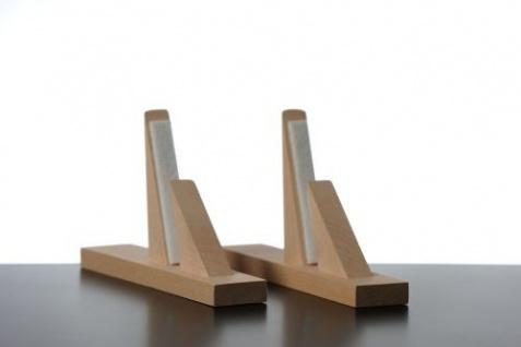Elbo Therm Holzstandfüße 2 Stück aus Naturholz in weiß oder schwarz - Vorschau 4