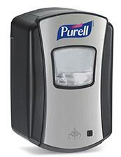 PURELL® LTX-7(TM) Desinfektionsmittelspender - Chrom - viele Funktionen 1328-04