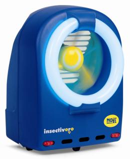 Moel Fan-Insektenvernichter Insectivoro 361B - Ventilator Insektenfalle - 55 Watt