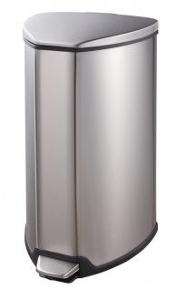 Tritt-Mülleimer Grace 15 Liter, EKO Edelstahl gebürstet