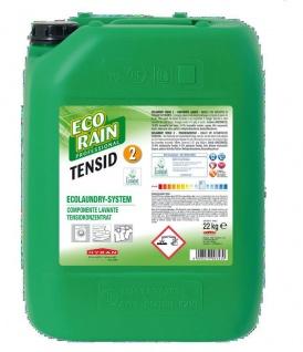 Hygan Ecorain Ecolaundry Flüssigwaschmittel Tensid2 in 22kg Kanister. Waschmittel für weiße Wäsche