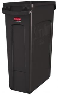 Slim Jim mit Luftschlitze 87 Liter, Rubbermaid