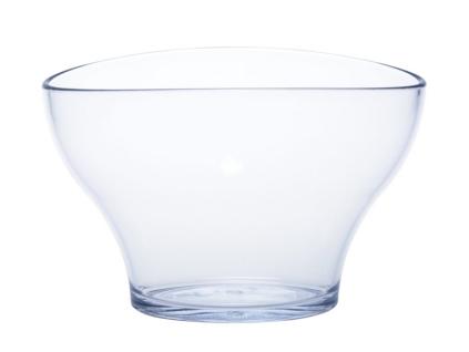 2er Set Piccolo-Cooler SAN glasklar aus Kunststoff stapelbar